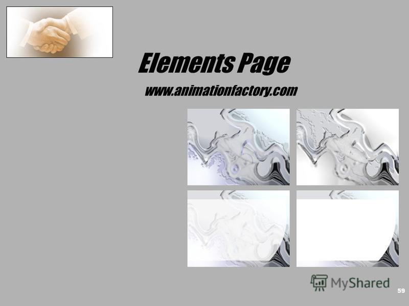 Elements Page www.animationfactory.com 59