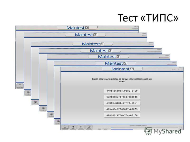 Тест «ТИПС»