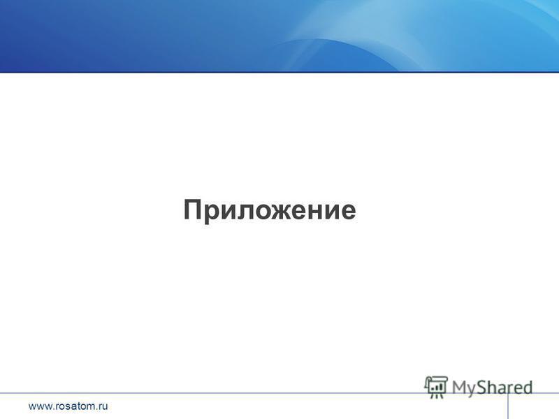 www.rosatom.ru Приложение