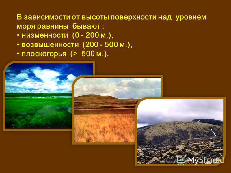 2. Назовите основные формы рельефа? Основные формы рельефа: горы и равнины.