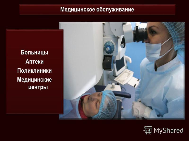 Больницы Аптеки Поликлиники Медицинские центры Больницы Аптеки Поликлиники Медицинские центры