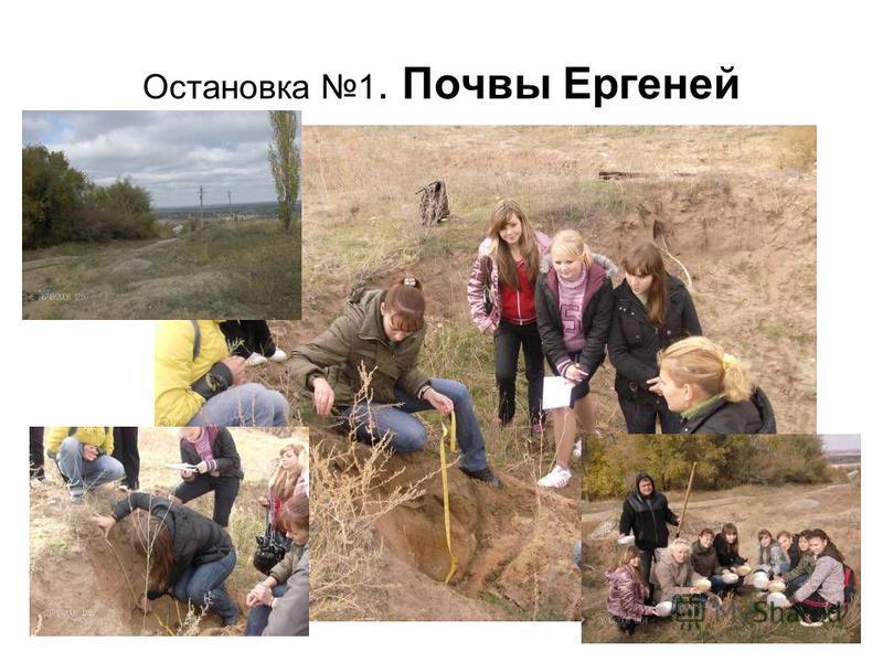 Остановка 1. Почвы Ергеней