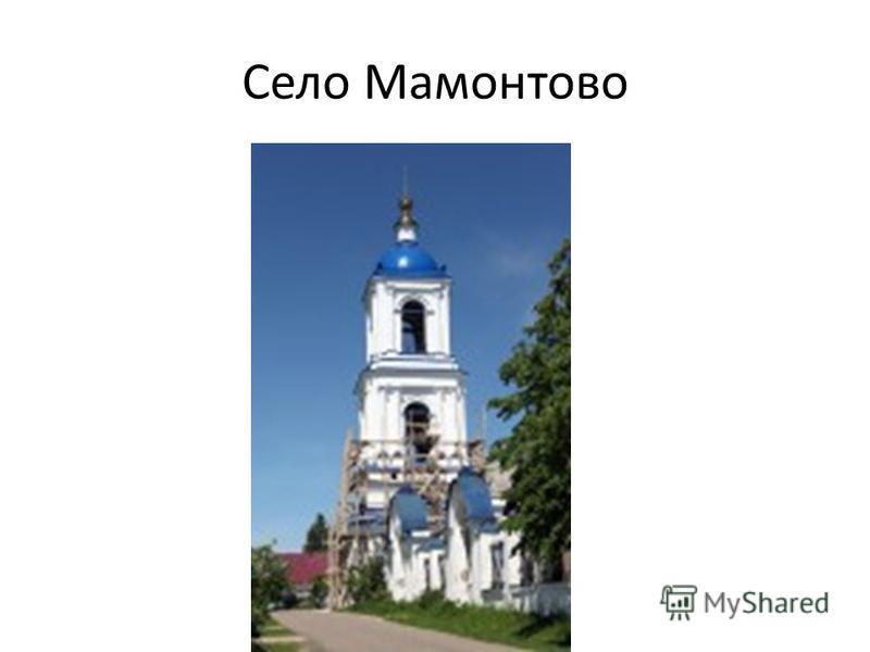 Село Мамонтово
