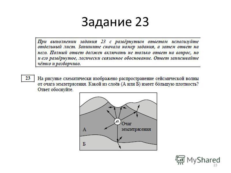 Задание 23 23