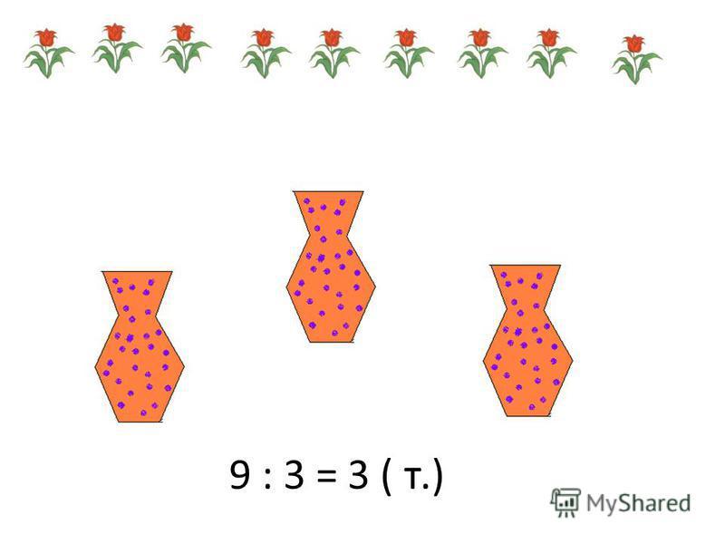 Задача 4 У Даши есть 18 рублей. Сколько тетрадей она купит на эти деньги, если одна тетрадь стоит 3 рубля? 18 : 3 = 6 (т.) Ответ: 6 тетрадей.
