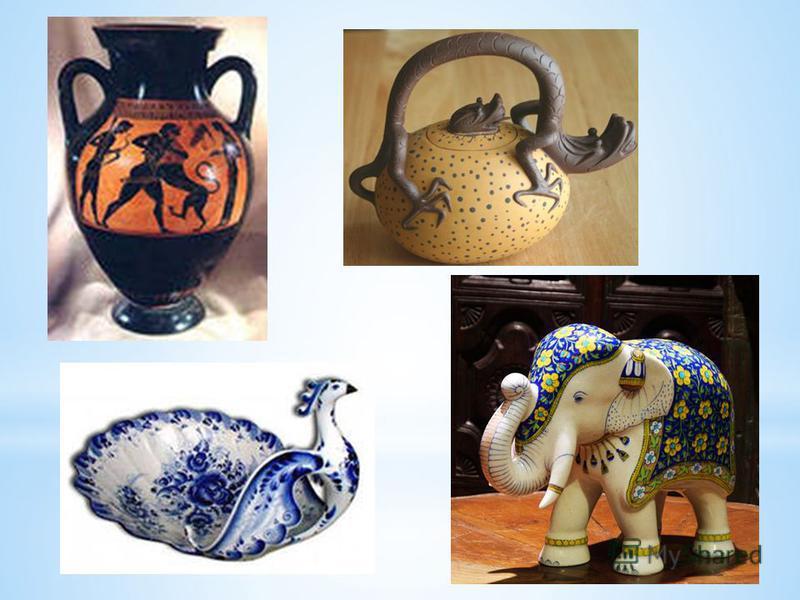 Керамика известна с глубокой древности и является, возможно, первым созданным человеком материалом. Первые образцы керамики относятся к эпохе палеолита. Первоначально керамика формовалась вручную. Изобретение гончарного круга позволило значительно ус
