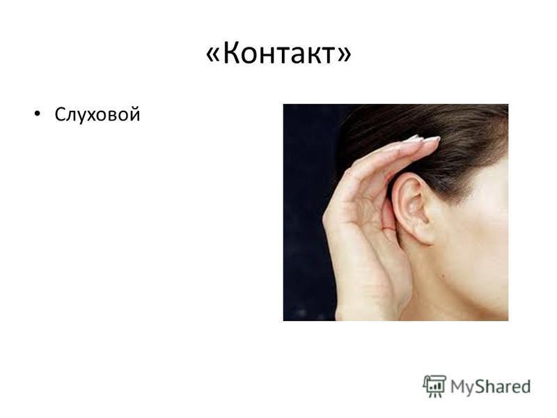 «Контакт» Слуховой