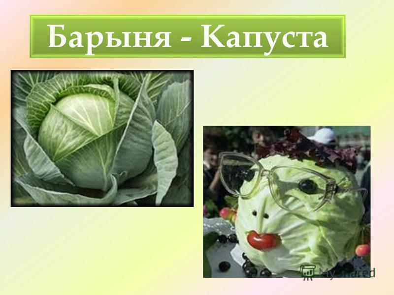 Барыня - Капуста