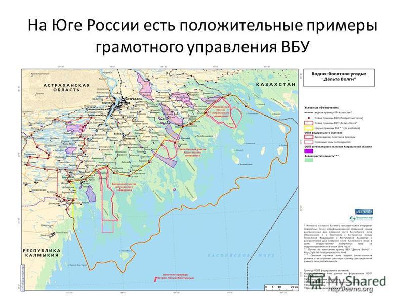На Юге России есть положительные примеры грамотного управления ВБУ