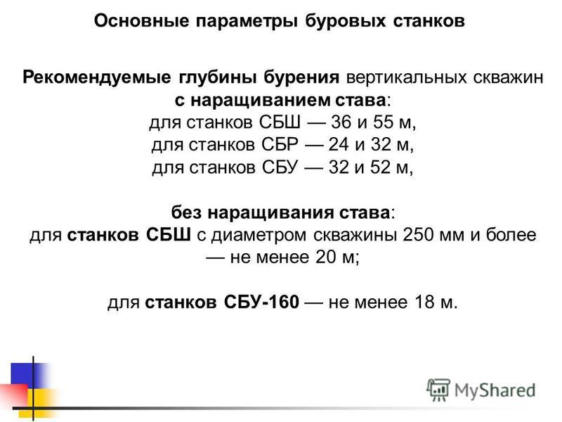 для станков СБР 24 и 32 м,