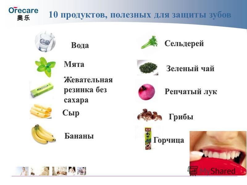 10 продуктов, полезных для защиты зубов