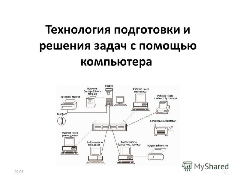 Технология подготовки и решения задач с помощью компьютера 109:05