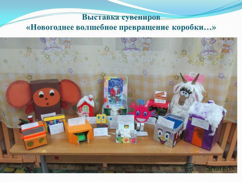 Выставка сувениров «Новогоднее волшебное превращение коробки…»