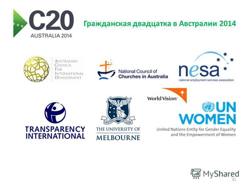 Гражданская двадцатка в Австралии 2014 31