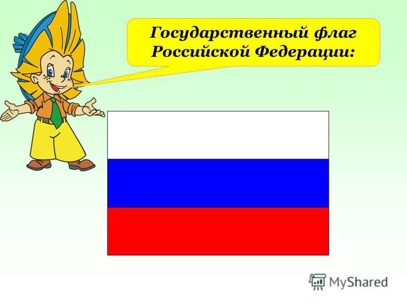 Государственный флаг Российской Федерации: