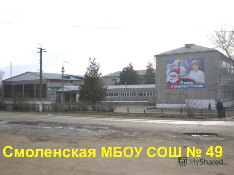 Смоленская МБОУ СОШ 49