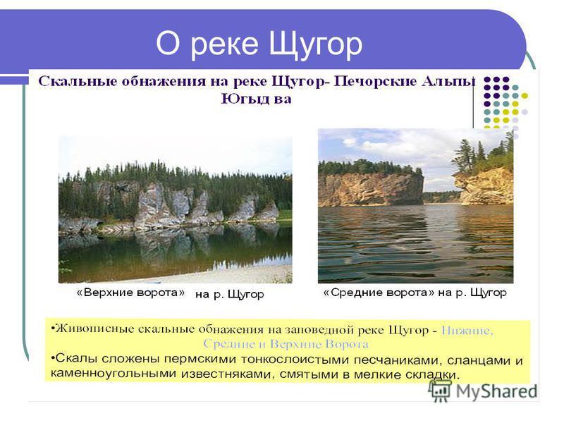 О реке Щугор