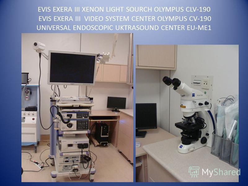 EVIS EXERA III XENON LIGHT SOURCH OLYMPUS CLV-190 EVIS EXERA III VIDEO SYSTEM CENTER OLYMPUS CV-190 UNIVERSAL ENDOSCOPIC UKTRASOUND CENTER EU-ME1