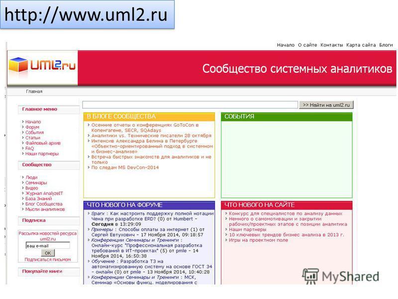 http://www.uml2.ru