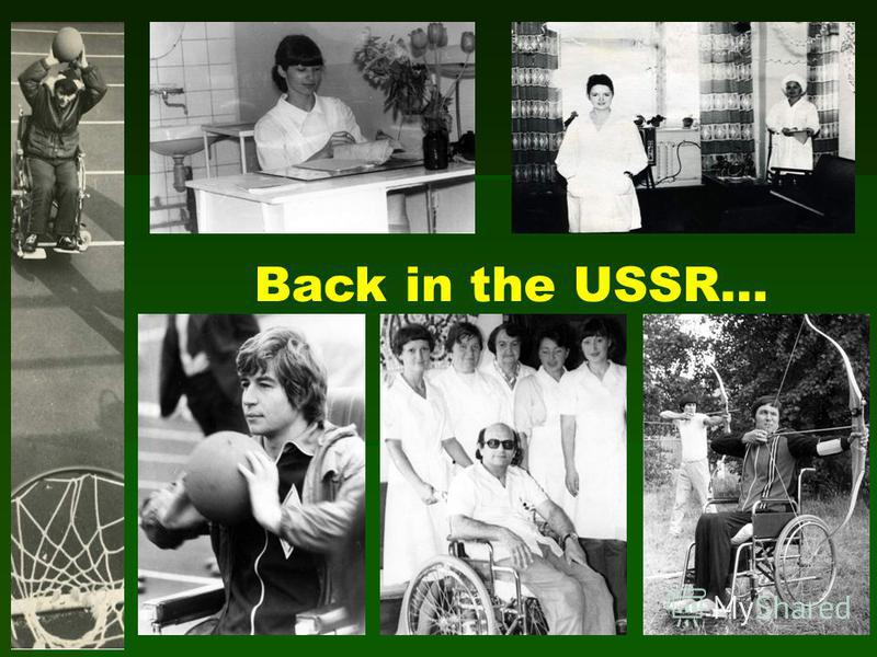 Back in the USSR…