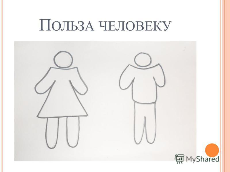 П ОЛЬЗА ЧЕЛОВЕКУ