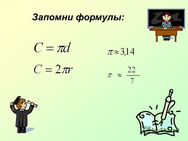 Запомни формулы:
