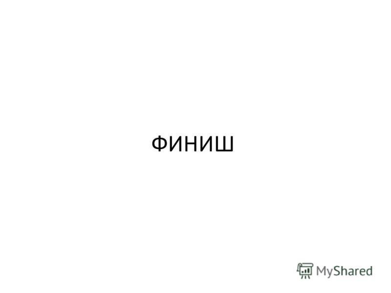 ФИНИШ