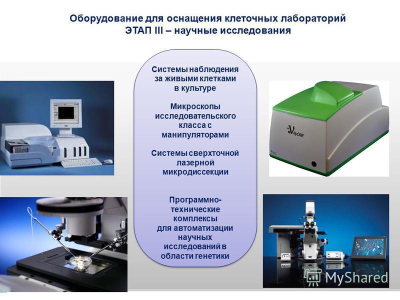Системы наблюдения за живыми клетками в культуре Микроскопы исследовательского класса с манипуляторами Системы сверхточной лазерной микродиссекции Программно- технические комплексы для автоматизации научных исследований в области генетики Системы наб