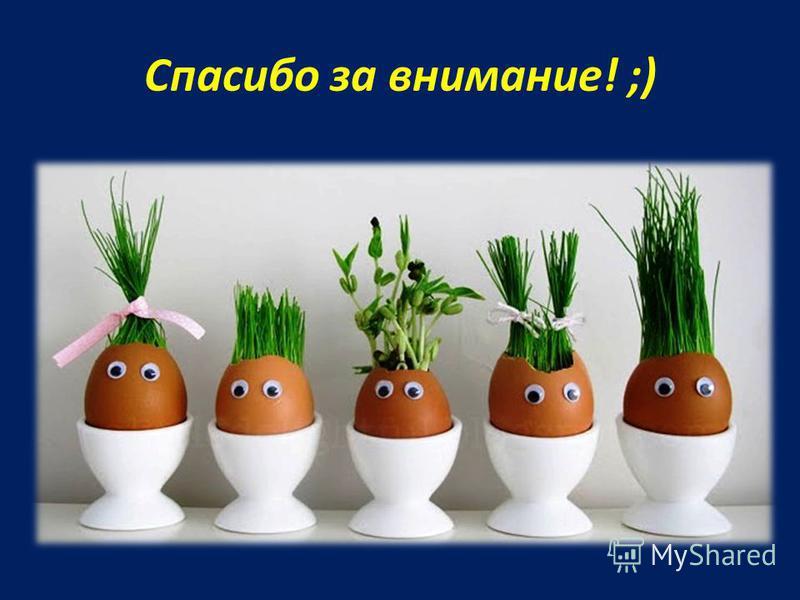 Спасибо за внимание! ;)