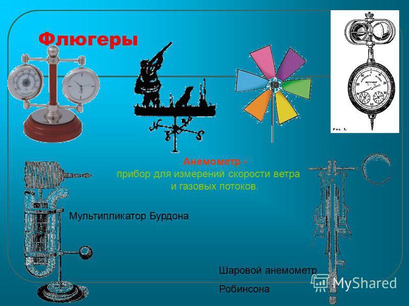 Флюгеры Шаровой анемометр Робинсона Мультипликатор Бурдона Анемометр - прибор для измерений скорости ветра и газовых потоков.