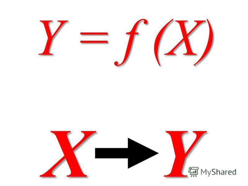 Y = f (X) X Y X Y