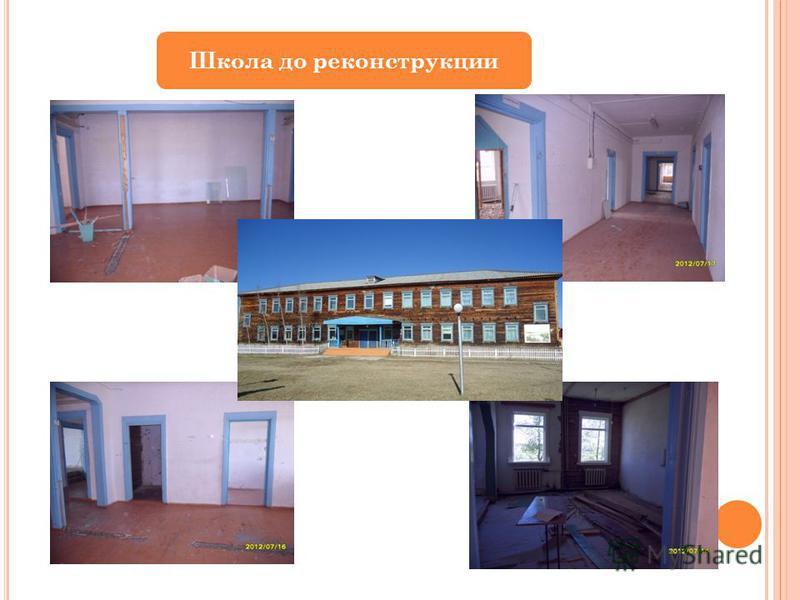 Школа до реконструкции