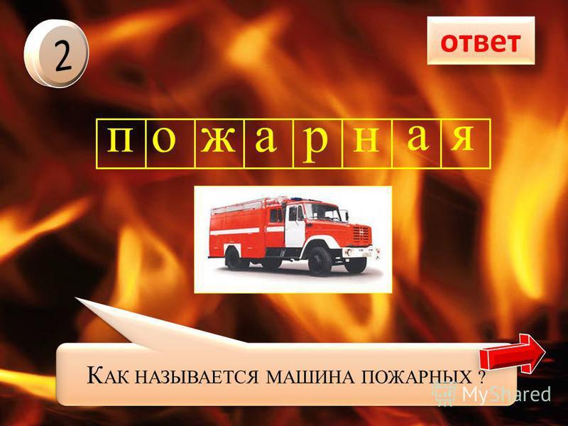 ответ пожарный Как называют человека, который тушит пожары?