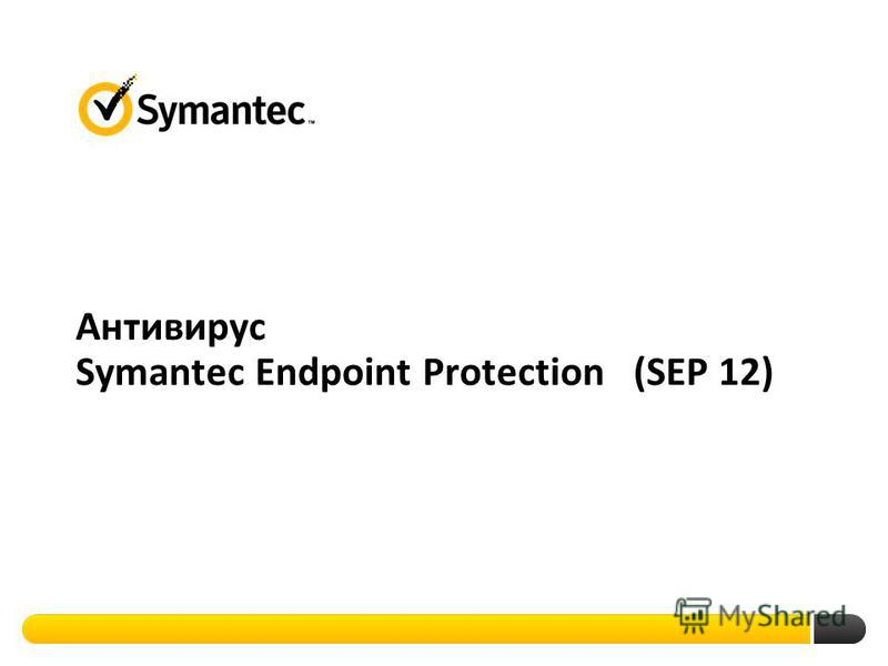 Антивирус Symantec Endpoint Protection (SEP 12)