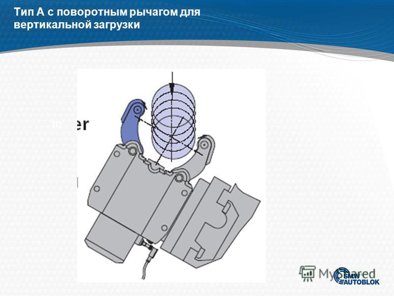 B- тип люнета с встроенным с боку цилиндром