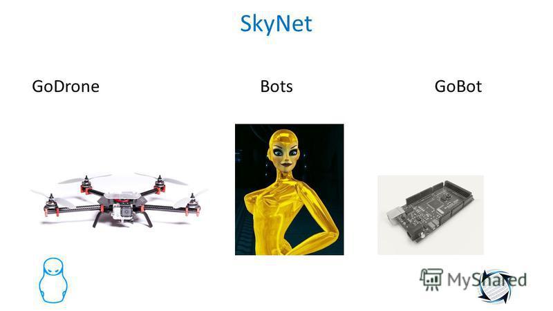 SkyNet GoDrone Bots GoBot