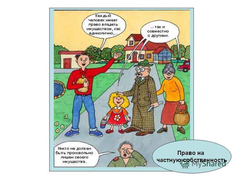 Право на частную собственность