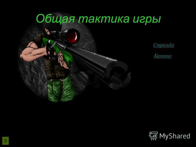 Общая тактика игры Стрельба Кемпинг
