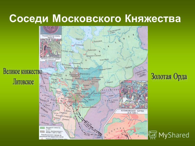 Соседи Московского Княжества