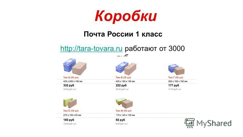 Коробки Почта России 1 класс http://tara-tovara.ruhttp://tara-tovara.ru работают от 3000 руб