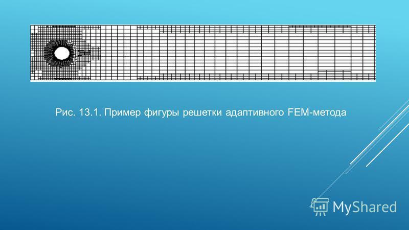 Рис. 13.1. Пример фигуры решетки адаптивного FEM-метода