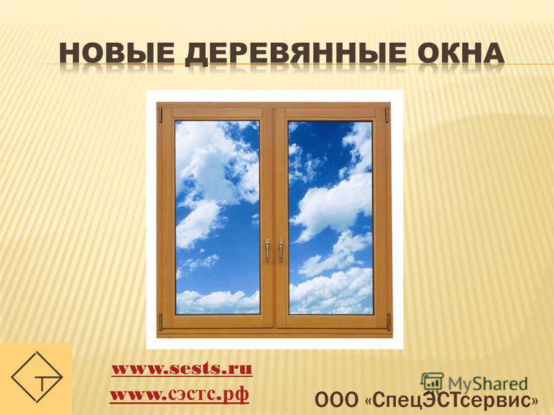 ООО «Спец ЭСТсервис» www.sests.ru www. сэстс. рф