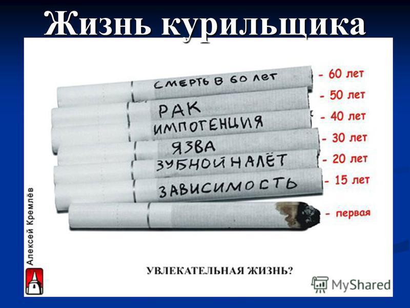 Жизнь курильщика