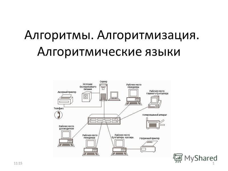 Алгоритмы. Алгоритмизация. Алгоритмические языки 111:17