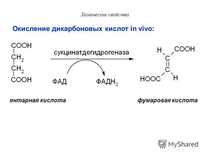 Химические свойства Процесс α-окисления идёт в пероксисомах. При нарушении этого процесса развивается синдром Рефсума, характеризующийся накоплением фитиновой кислоты в мозге. -Окисление: