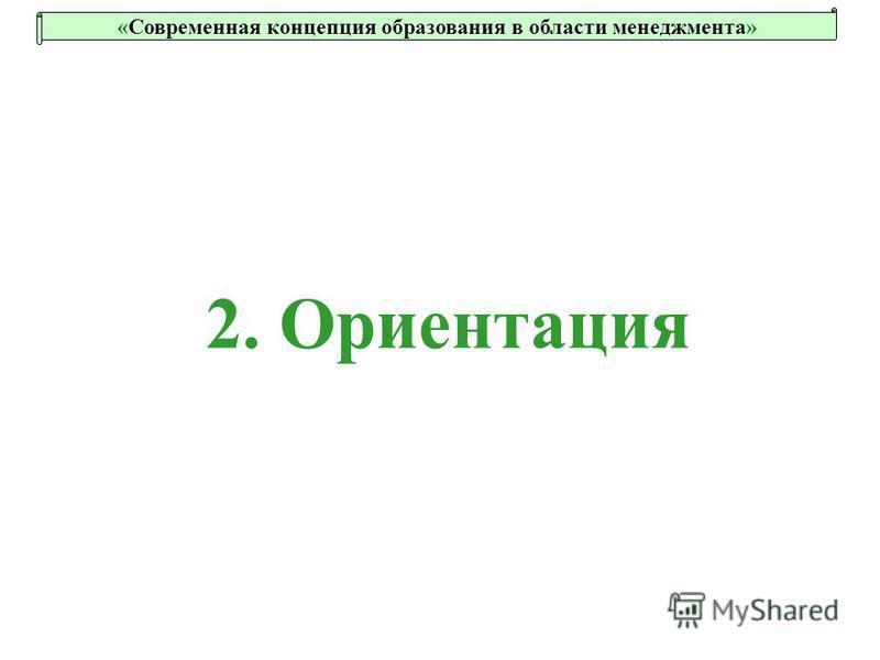 2. Ориентация