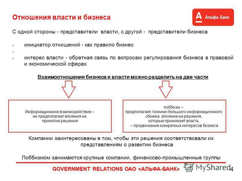 Gr government relation как продвижение интересов компании продвижение сайтов недорого