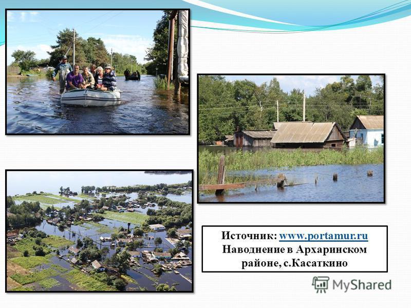 Источник: www.portamur.ru Наводнение в Архаринском районе, с.Касаткино