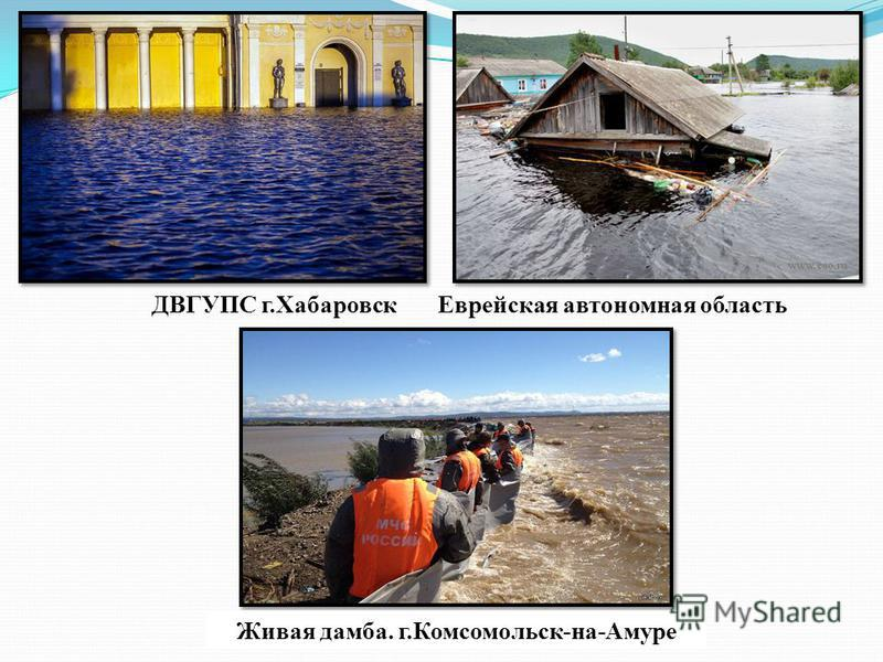 ДВГУПС г.Хабаровск Еврейская автономная область Живая дамба. г.Комсомольск-на-Амуре
