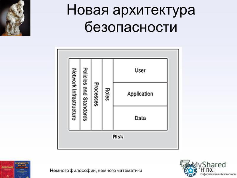 Немного философии, немного математики Новая архитектура безопасности